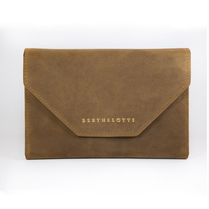 wallet-Genevieve clutch brown