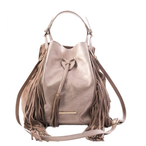 handmade silver leather bag women