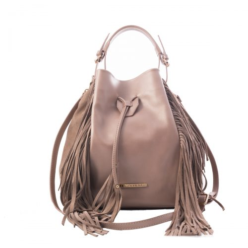 handmade nude leather bag women