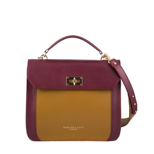 berthelotti-florence bag-leather-burgundy-woman