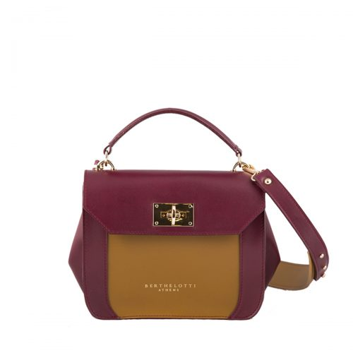berthelotti-florence small bag-leather-burgundy-woman-1