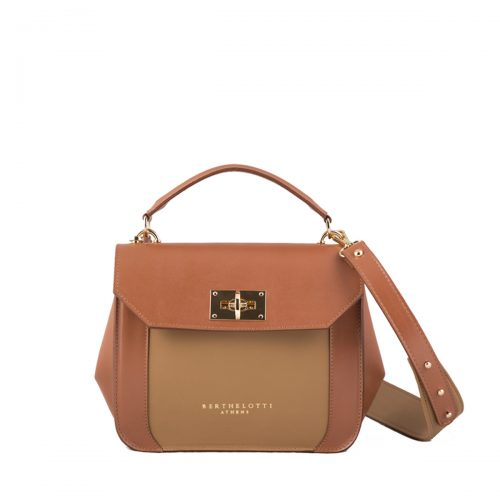 berthelotti-florence small bag-leather-tan color-1
