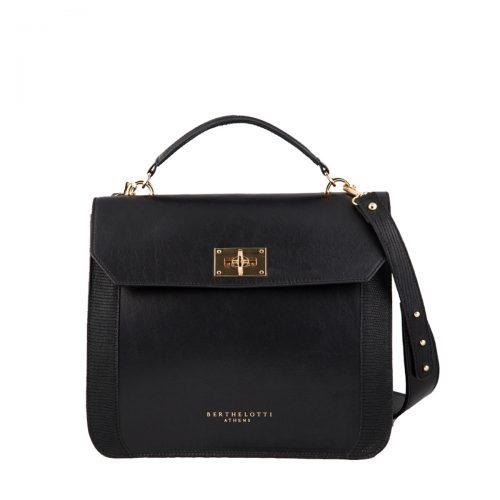 berthelotti-woman-florence bag-black leather