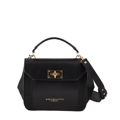 berthelotti-woman-florence small bag-black leather