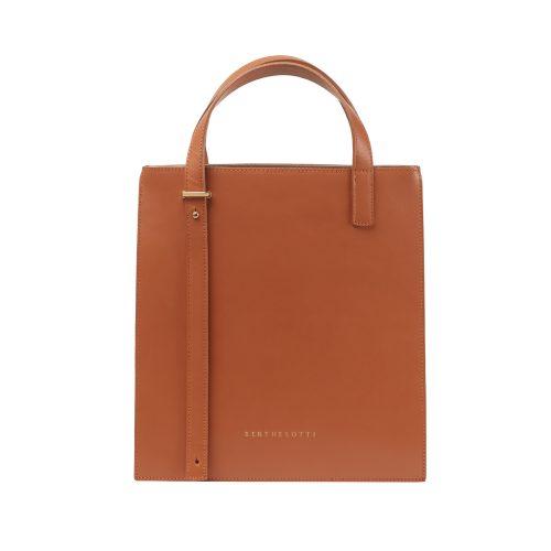 kierra tote leather bag-berthelotti-woman-tan leather-berthelotti8112