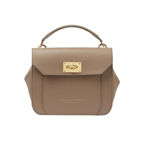 berthelotti-florence small bag-leather-MUSHROOM color-berthelotti8179