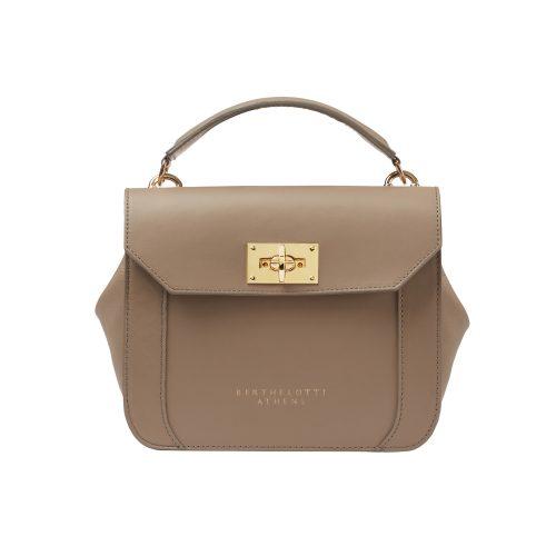 berthelotti-florence small bag-leather-MUSHROOM color-berthelotti8179