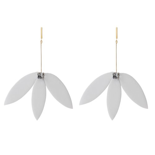 SERENITY LEATHER EARRING