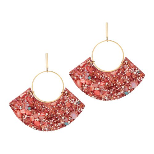 Chloe berthelotti leather earring