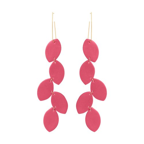 LEA LEATHER EARRING BERTHELOTTI