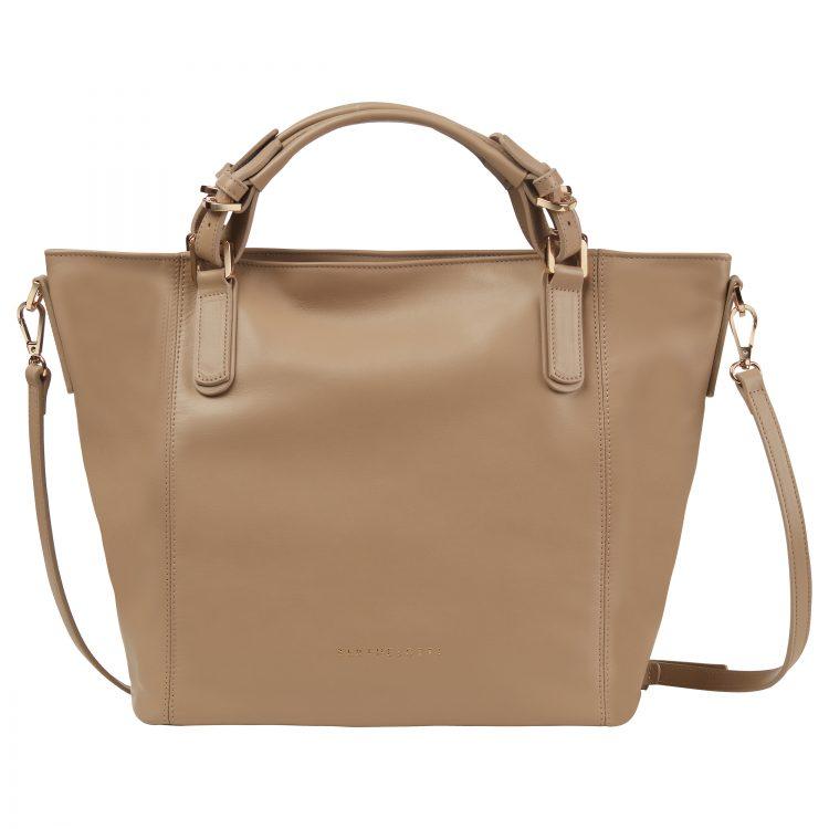 Berthelotti Pale olive Noreen Orange bag woman style fashion leather
